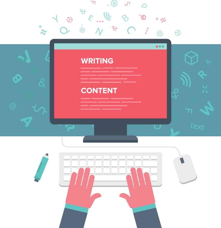 Texter und Webdesigner