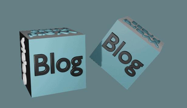 Würfel fliegen Blog