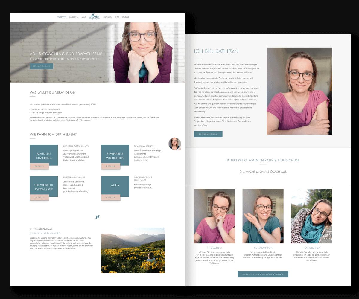 Website von Kathryn