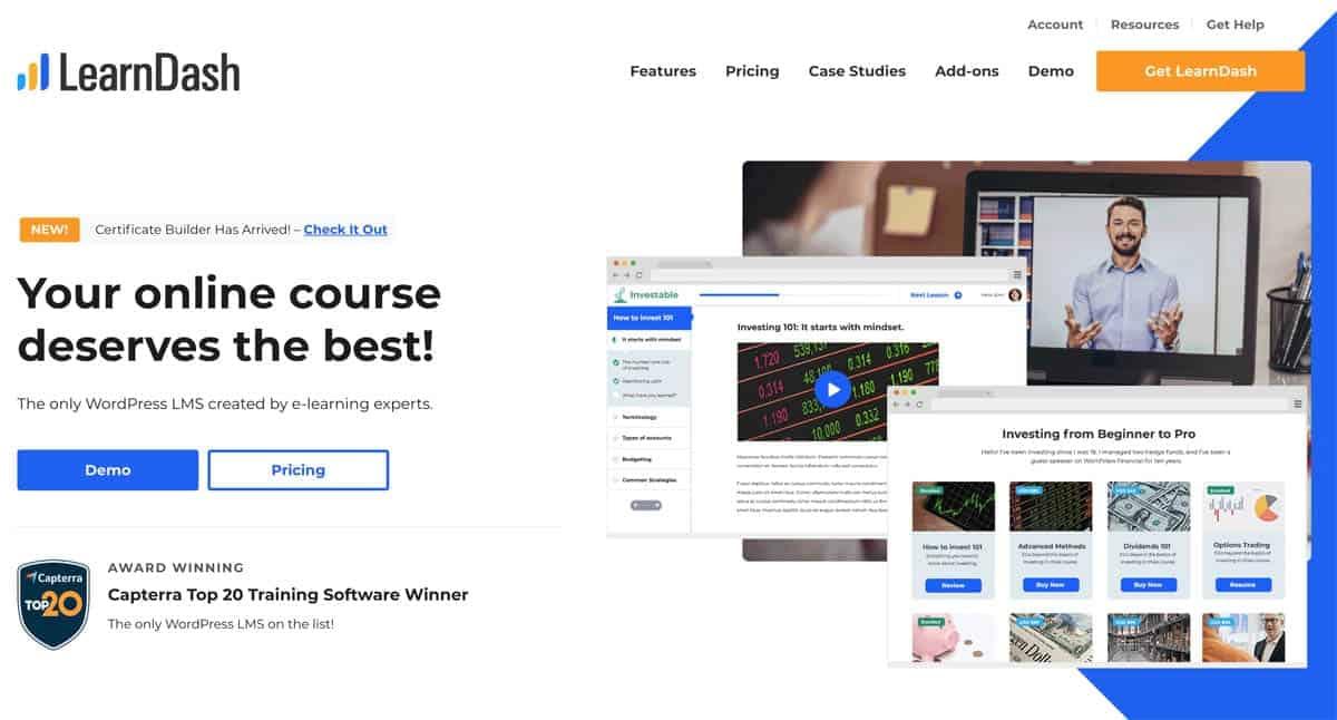Learndash als WordPress Lernplattform