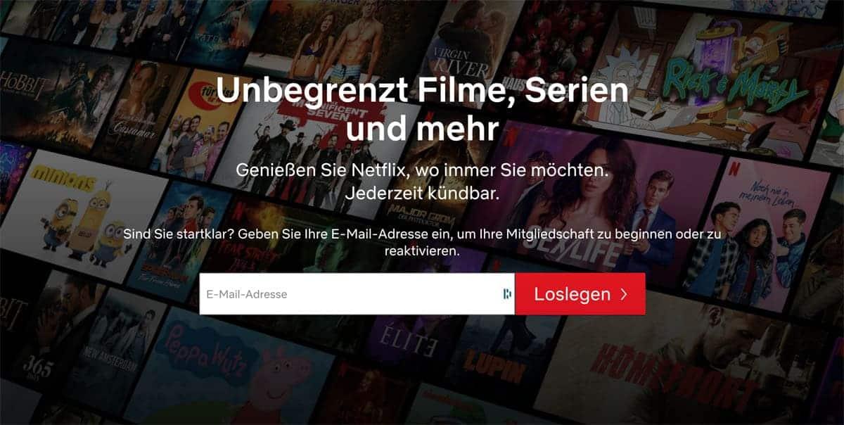 Membership von Netflix